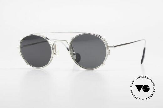 L.A. Eyeworks QUIMBY 405 Runde Brille mit Sonnen-Clip Details