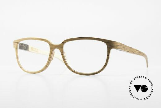 Rolf Spectacles Flavia 05 Brillenfassung Aus Purem Holz Details