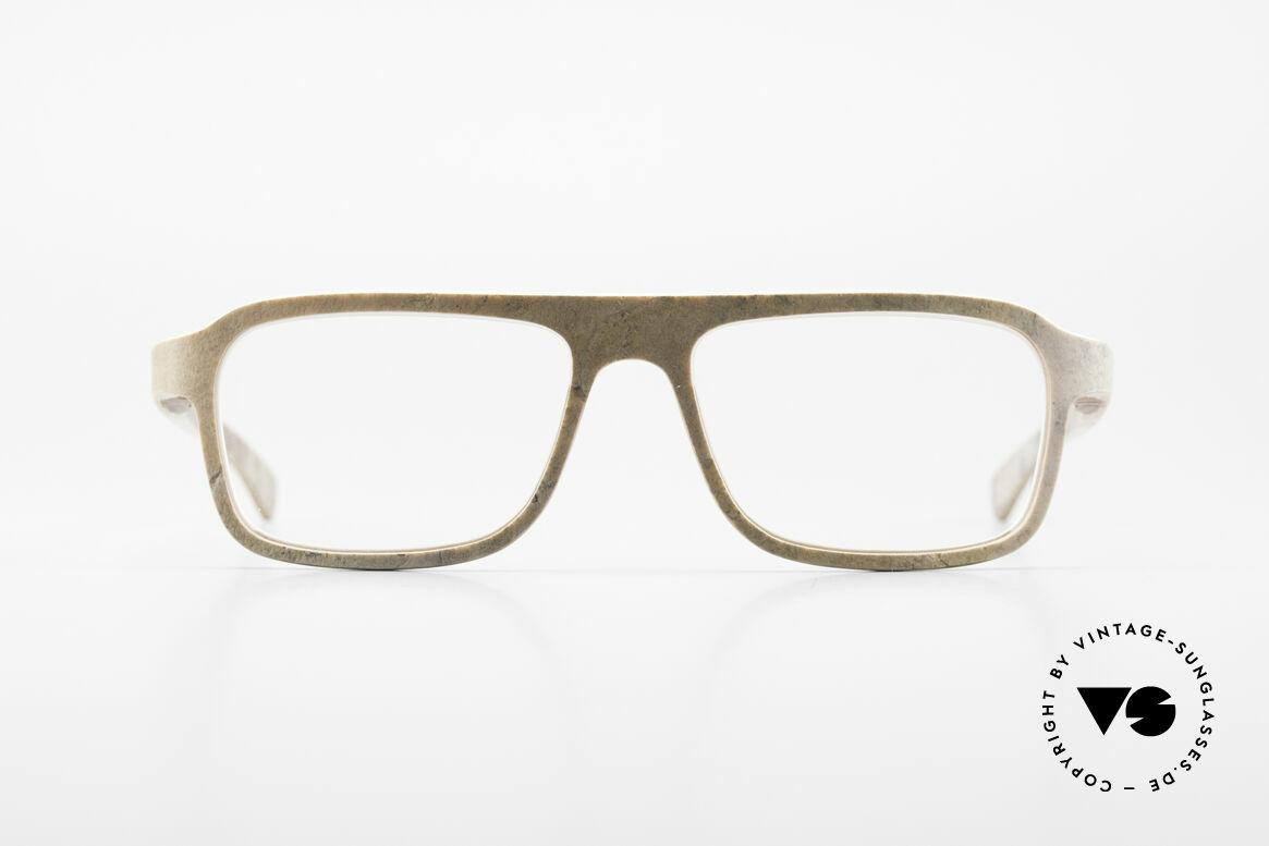 Rolf Spectacles Dino 41 Steinbrille sowie Holzbrille, Echte Steinbrille von Rolf Spectacles, DAS ORIGINAL!, Passend für Herren