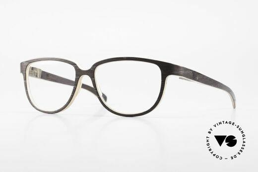 Rolf Spectacles Appia 06 Echte Holzbrille Holzfassung Details