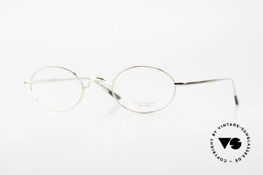 Oliver Peoples Gallagher Vintage Brille Oval Rund Details
