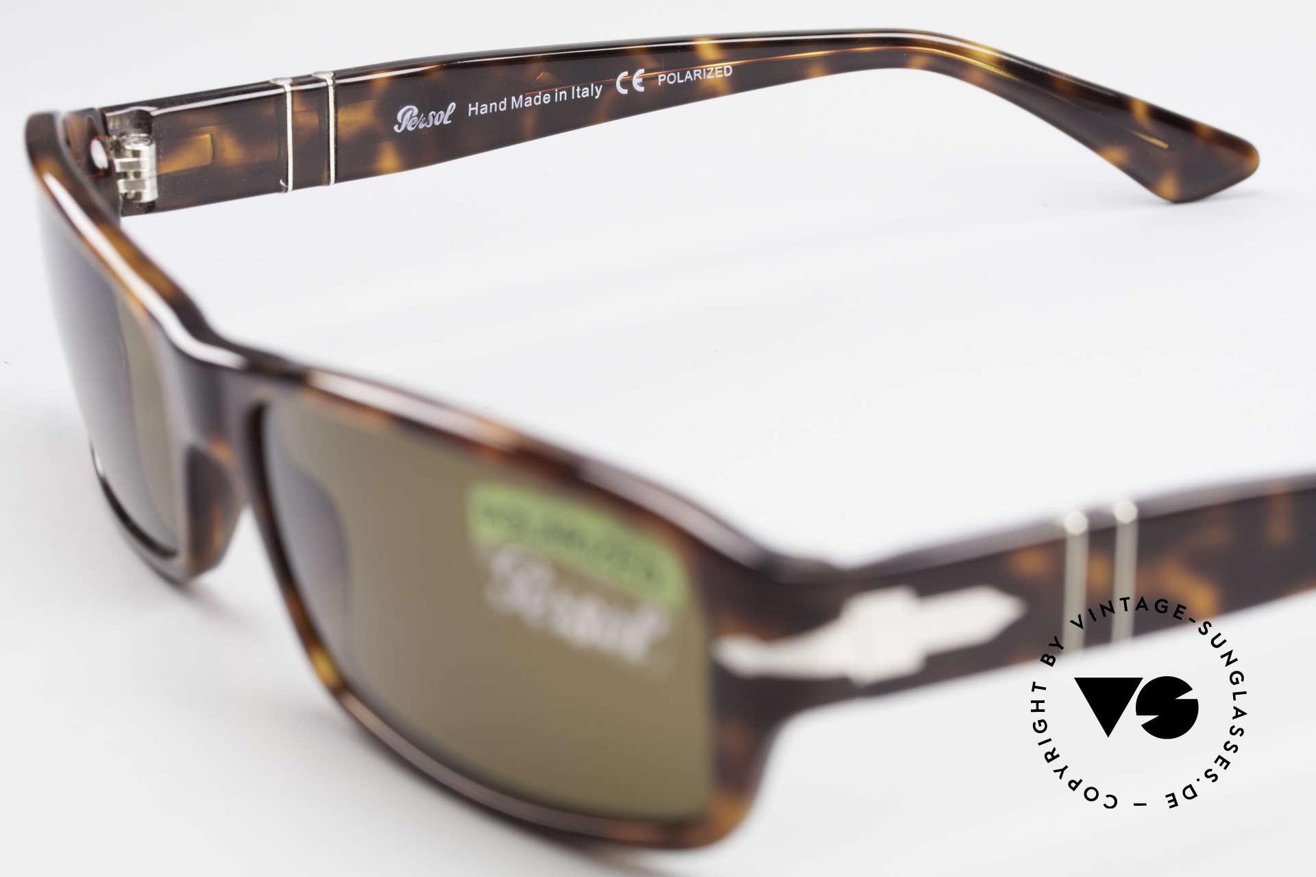 Persol 2786 Klassische Sonnenbrille Polar, eine Neuauflage der alten Brillen von Persol Ratti, Passend für Herren und Damen