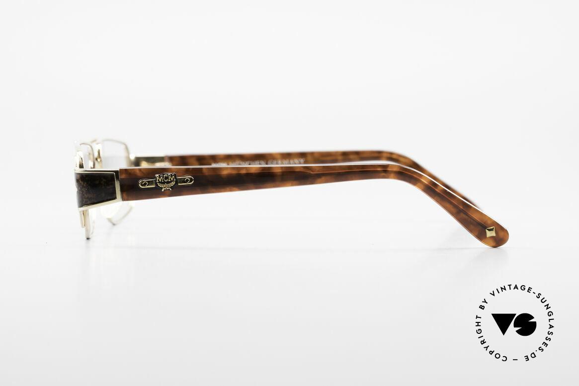MCM München 7 Alte 80er Luxus Lesebrille, wahres Designerstück in absoluter Top-Qualität, Passend für Herren und Damen
