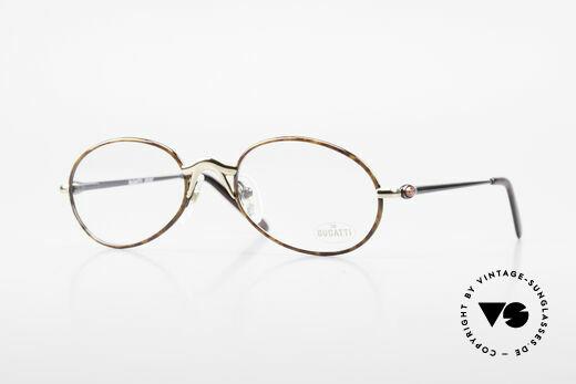 Bugatti 22157 Rare Ovale 90er Vintage Brille Details