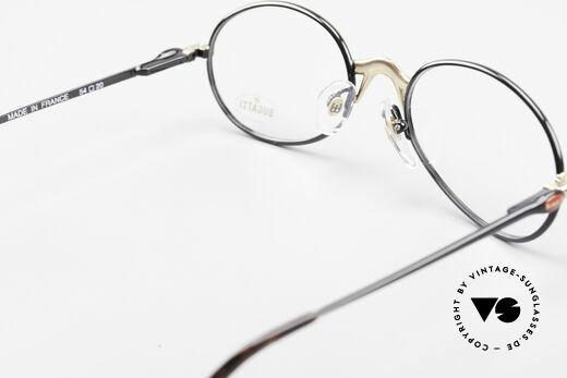 Bugatti 22157 Rare Ovale 90er Vintage Brille, KEINE Retrobrille, sondern ein altes ORIGINAL!, Passend für Herren und Damen