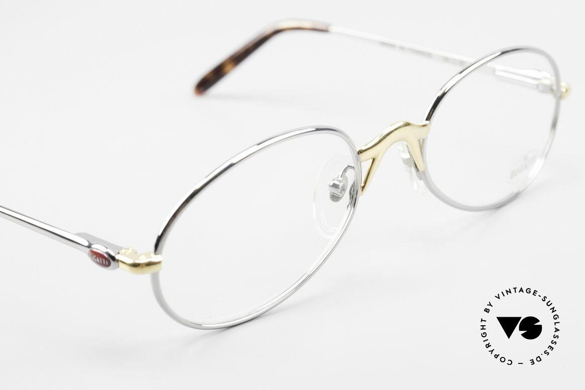 Bugatti 22126 Original 90er Vintage Brille, ungetragen (wie alle unsere Bugatti Fassungen), Passend für Herren und Damen