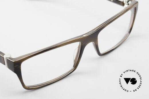 Bugatti 487 Markante Designerbrille Men, Modell ist als Brille oder Sonnenbrille verglasbar, Passend für Herren