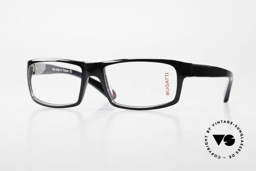Bugatti 533 Designer Luxusbrille Herren Details