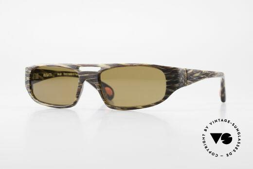 Bugatti 222 Luxus Designer Sonnenbrille Details