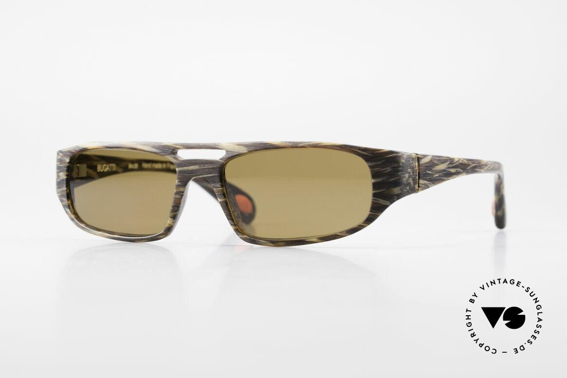 Bugatti 222 Luxus Designer Sonnenbrille, markante high-tech Sonnenbrille von BUGATTI, Passend für Herren