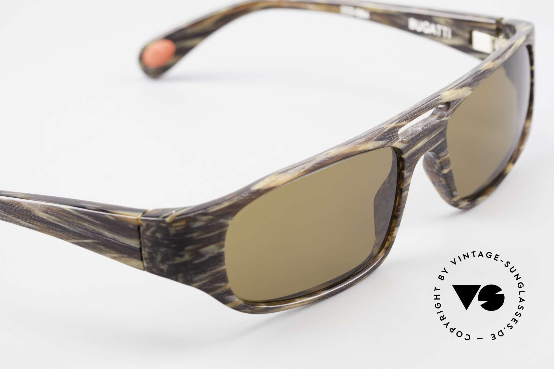 Bugatti 222 Luxus Designer Sonnenbrille, ungetragenes Exemplar inkl. original Verpackung, Passend für Herren