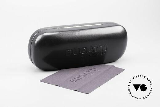Bugatti 222 Luxus Designer Sonnenbrille, Größe: medium, Passend für Herren