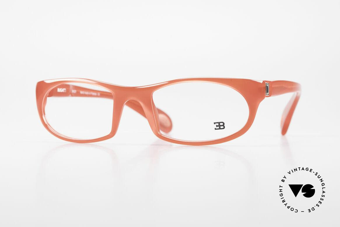 Bugatti 326 Odotype Ettore Vintage Designer Brille, sportliche high-tech vintage BUGATTI Brille, Passend für Herren und Damen