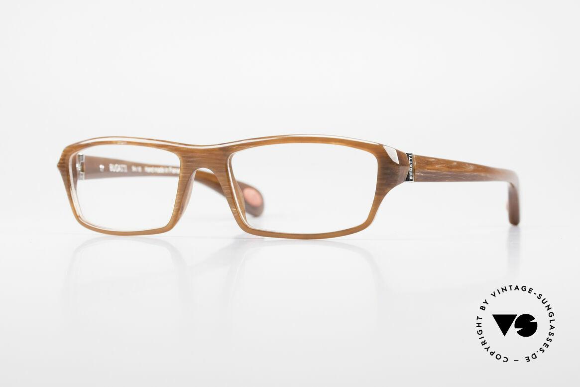 Bugatti 471 Klassische Designerbrille Men, klassische high-tech Brillenfassung von Bugatti, Passend für Herren