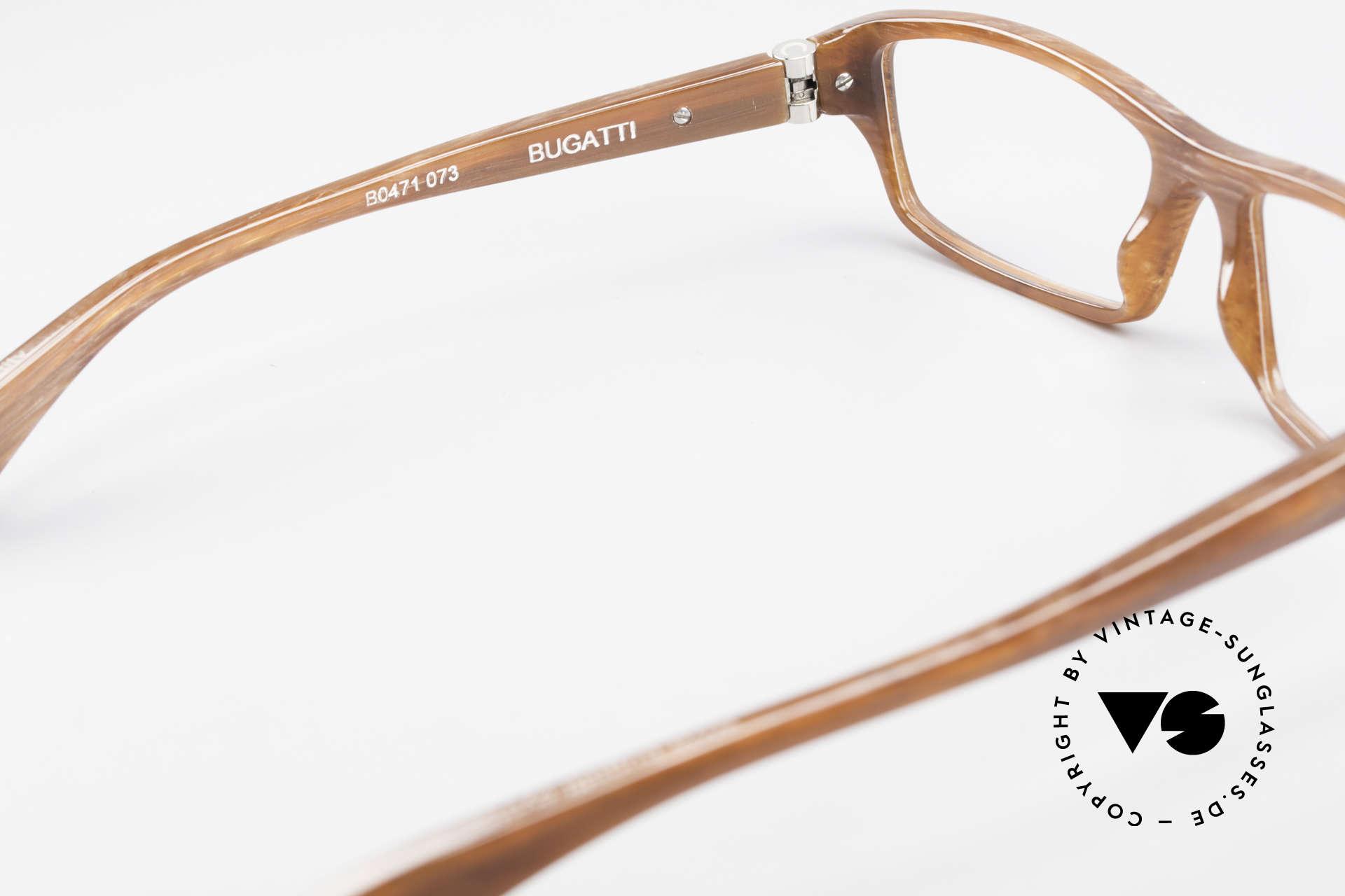 Bugatti 471 Klassische Designerbrille Men, Modell ist als Brille oder Sonnenbrille verglasbar, Passend für Herren
