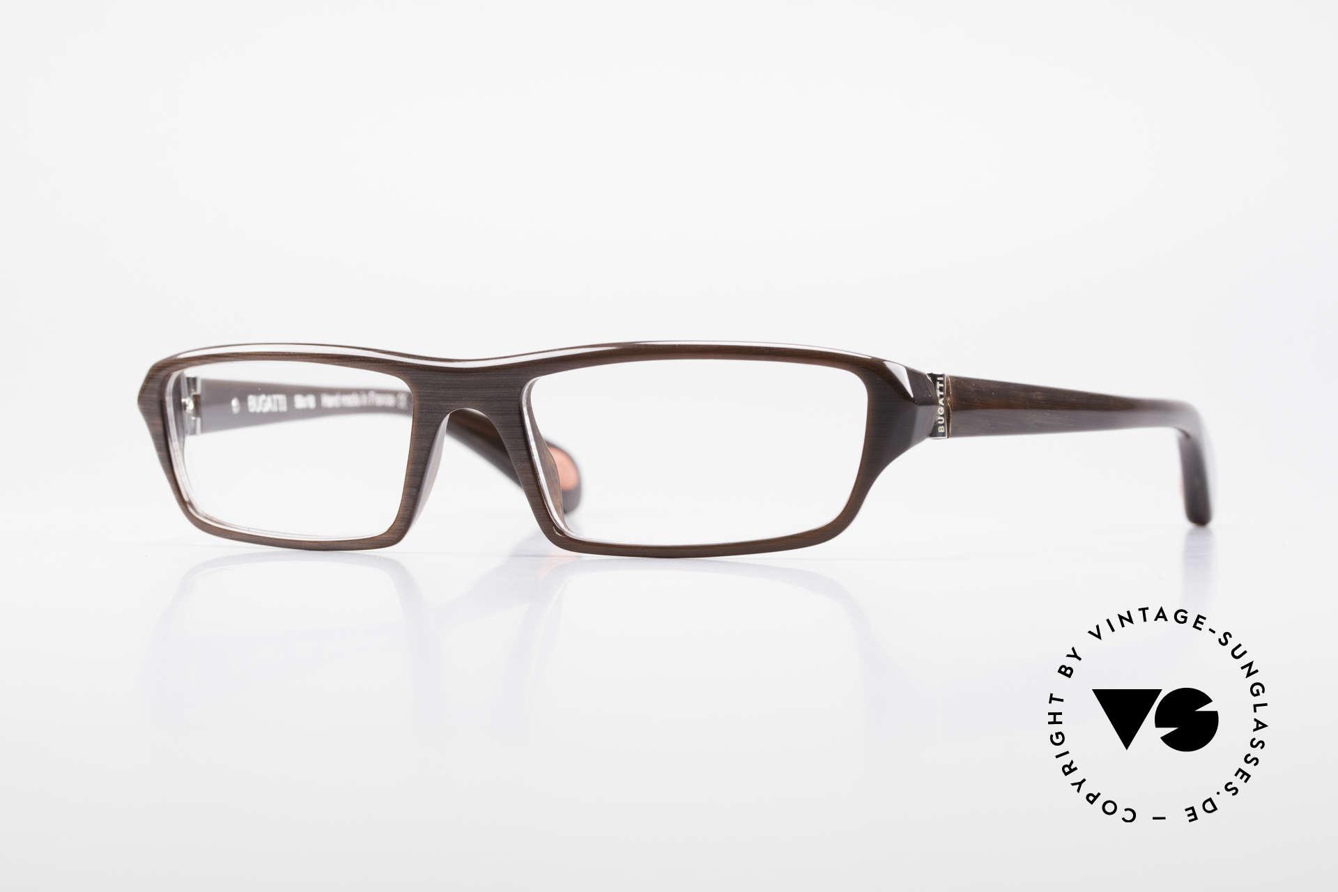 Bugatti 470 Herren Designerbrille Limited, klassische high-tech Brillenfassung von Bugatti, Passend für Herren