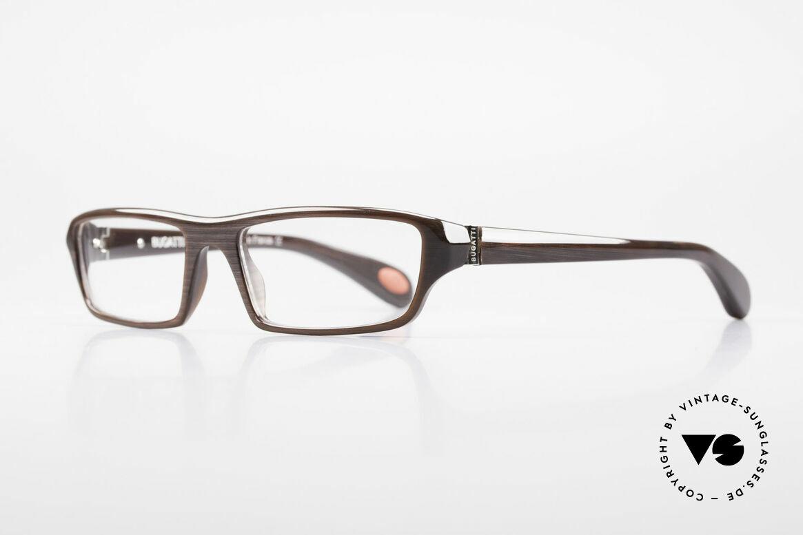 Bugatti 470 Herren Designerbrille Limited, optimaler Tragekomfort dank Feder-Scharnieren, Passend für Herren