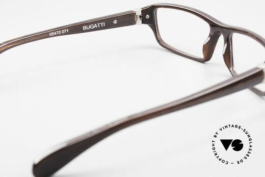 Bugatti 470 Herren Designerbrille Limited, Modell ist als Brille oder Sonnenbrille verglasbar, Passend für Herren