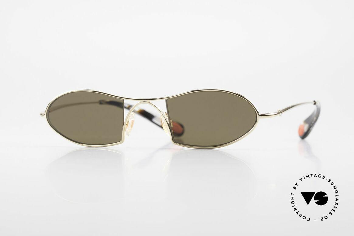 Bugatti 350 Odotype Designer Luxus Sonnenbrille, ORIGINAL high-tech BUGATTI Sonnenbrille, Passend für Herren