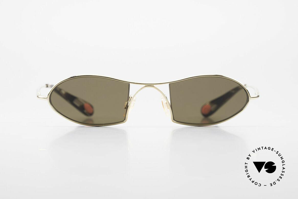 Bugatti 350 Odotype Designer Luxus Sonnenbrille, unverwechselbares Design der Odotype-Serie, Passend für Herren