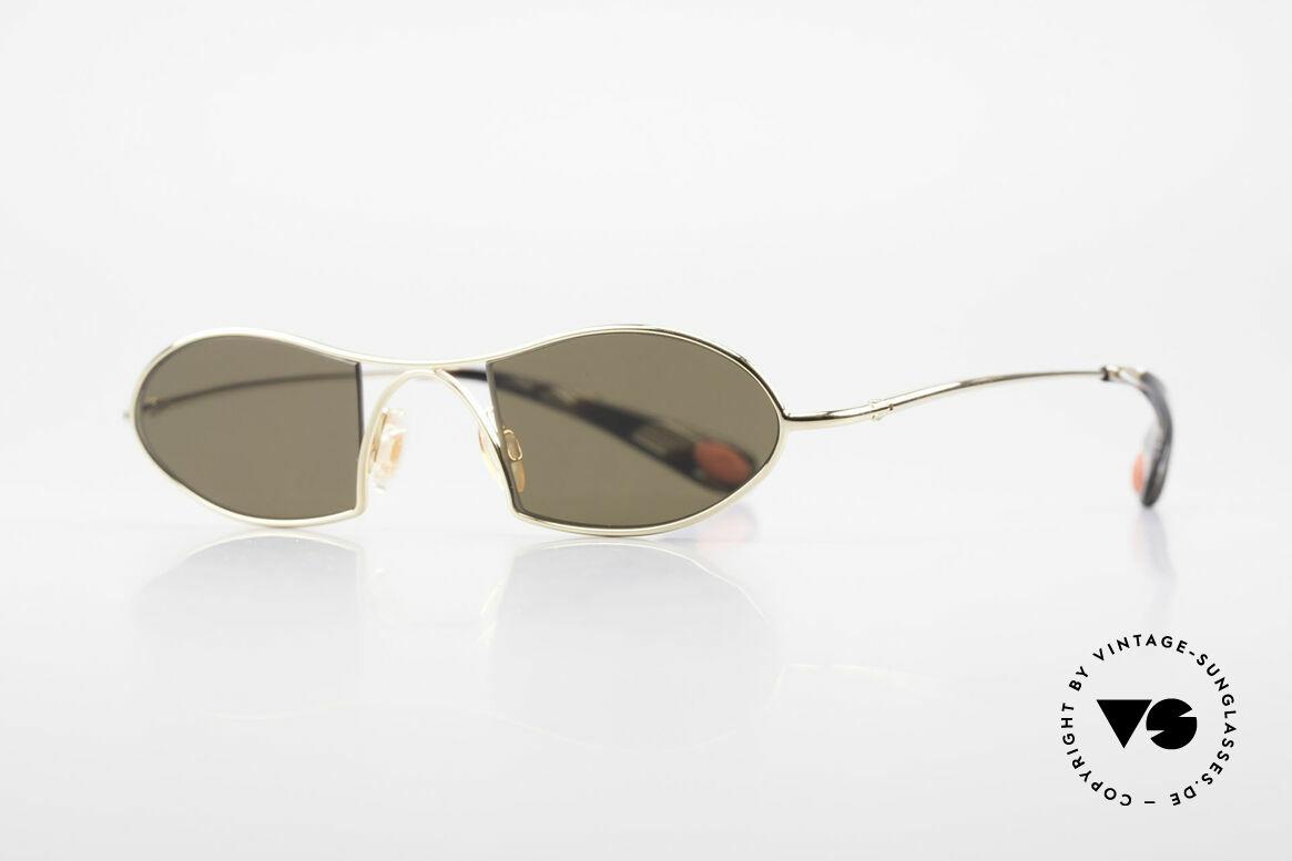 Bugatti 350 Odotype Designer Luxus Sonnenbrille, ergonomischer Rahmen mit Federscharnieren, Passend für Herren