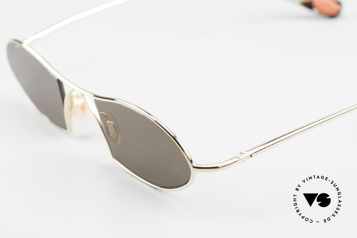 Bugatti 350 Odotype Designer Luxus Sonnenbrille, circa 15 Jahre altes Einzelstück; ungetragen!, Passend für Herren