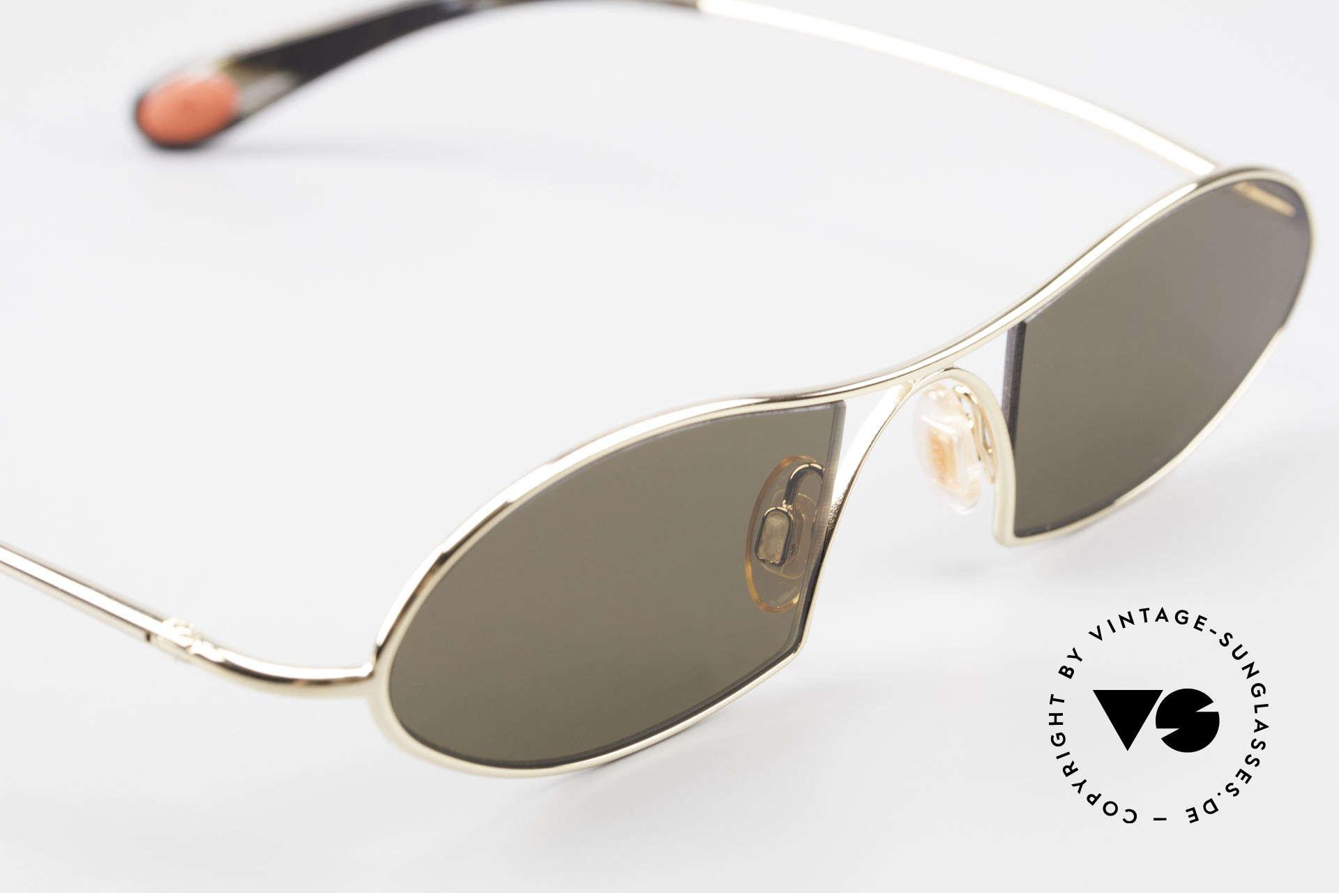 Bugatti 350 Odotype Designer Luxus Sonnenbrille, entspiegelte Sonnengläser für 100% UV Schutz, Passend für Herren
