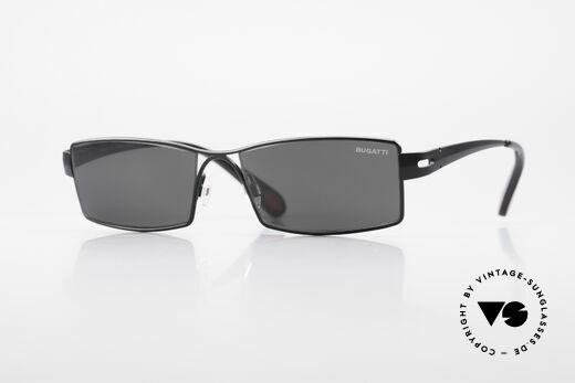 Bugatti 499 Rare XL Designersonnenbrille Details