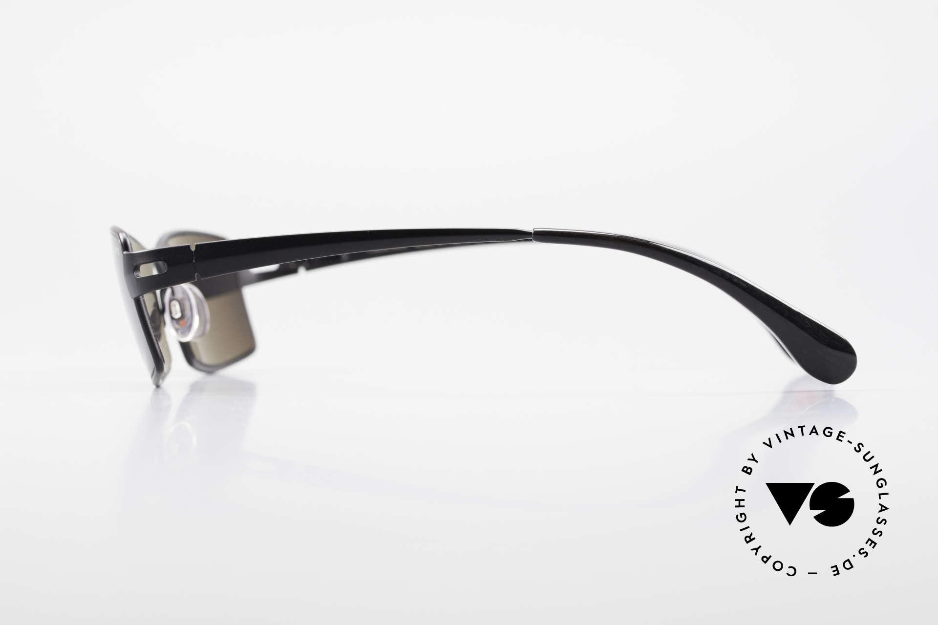 Bugatti 499 Rare XL Designersonnenbrille, selten, da damals nur als Kleinstserie produziert, Passend für Herren