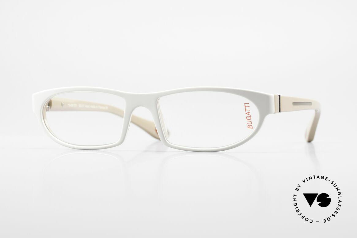 Bugatti 489 Sportliche Designerbrille Men, markante high-tech Brillenfassung von Bugatti, Passend für Herren