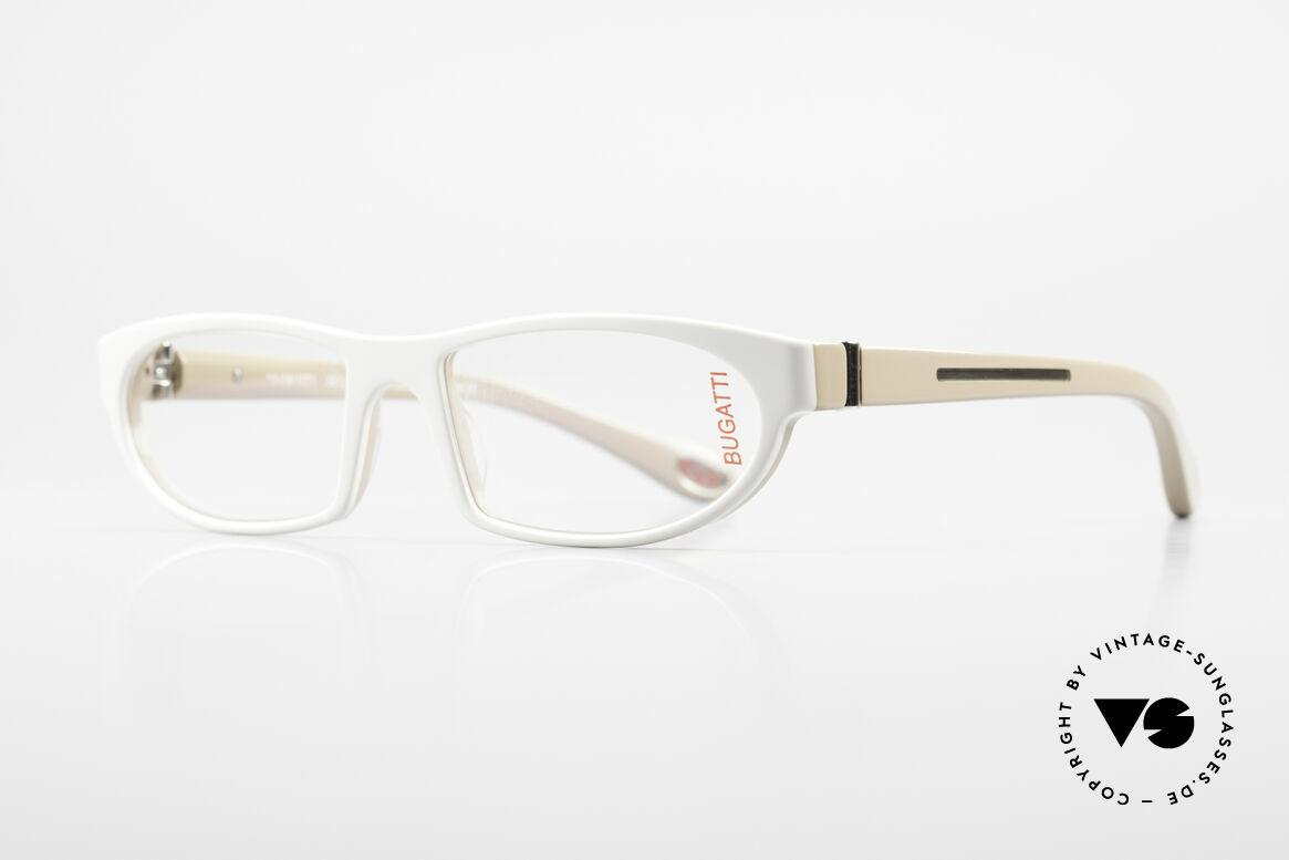 Bugatti 489 Sportliche Designerbrille Men, optimaler Tragekomfort dank Feder-Scharnieren, Passend für Herren