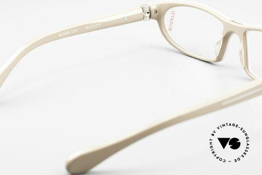Bugatti 489 Sportliche Designerbrille Men, Modell ist als Brille oder Sonnenbrille verglasbar, Passend für Herren
