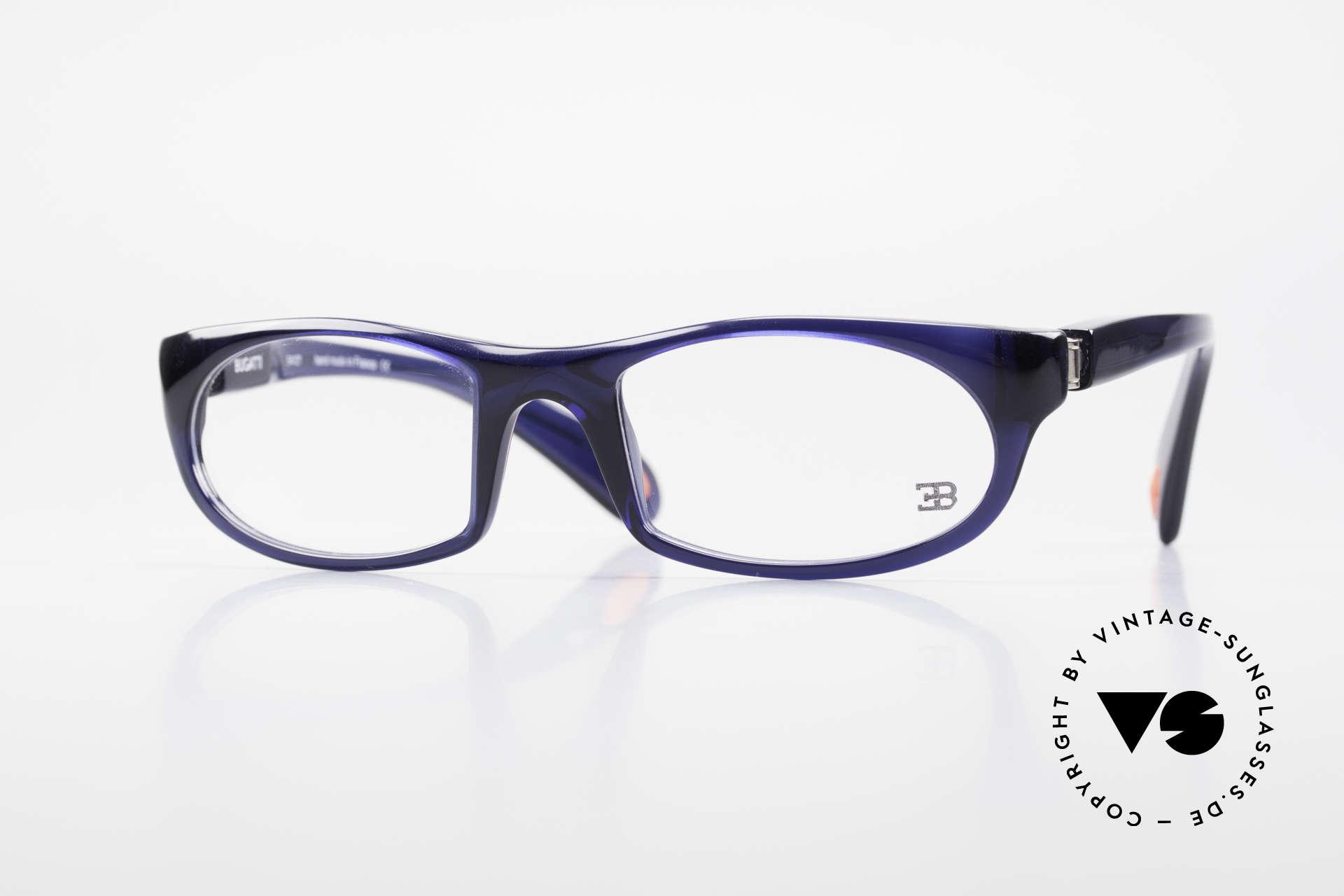 Bugatti 326 Odotype Echte Vintage Designer Brille, sportliche high-tech vintage BUGATTI Brille, Passend für Herren
