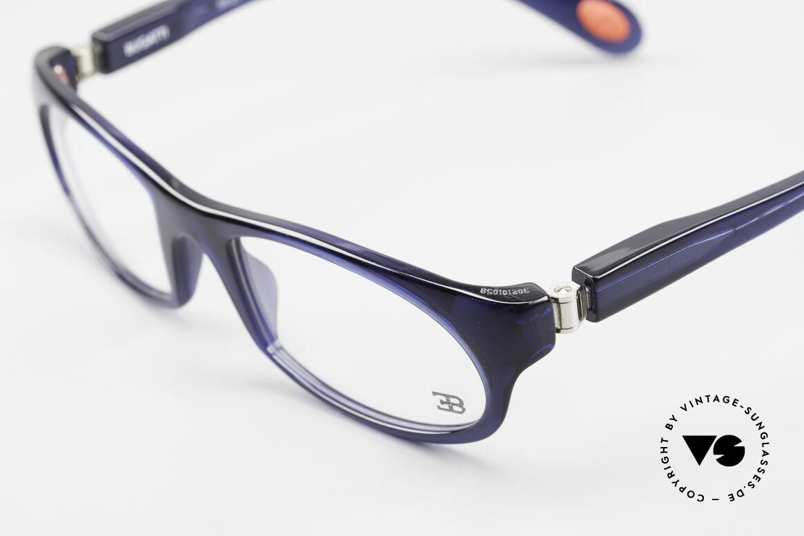 Bugatti 326 Odotype Echte Vintage Designer Brille, sehr spezielle Glaseinfassung & Top Komfort, Passend für Herren