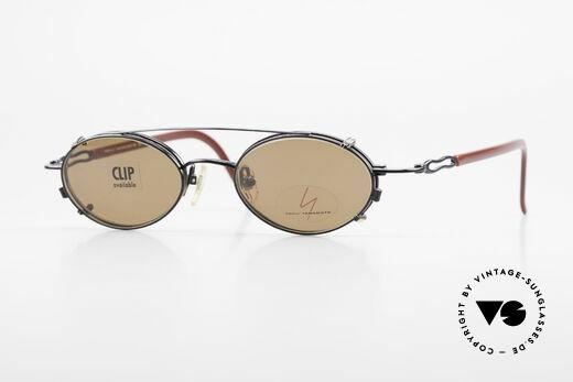 Yohji Yamamoto 51-8201 Ovale Vintage Brille Clip On Details