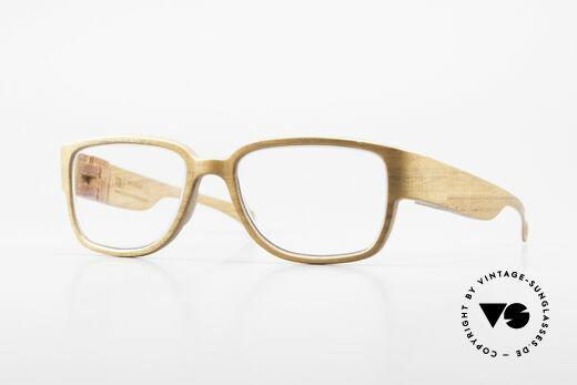 Rolf Spectacles Hornet 52 Brille Komplett aus Holz Large Details