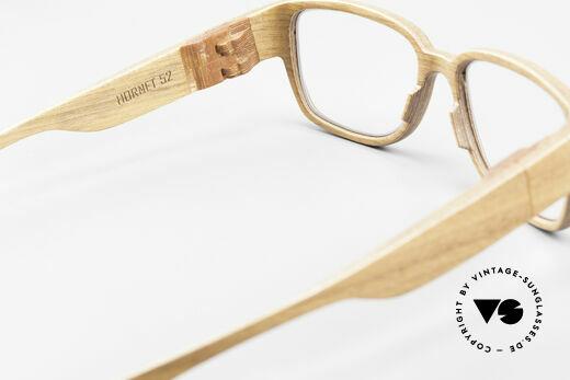 Rolf Spectacles Hornet 52 Brille Komplett aus Holz Large