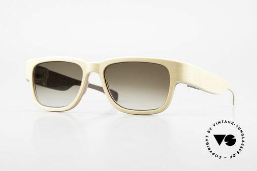 Rolf Spectacles Jupiter 51 Reine Holz Sonnenbrille XL Details