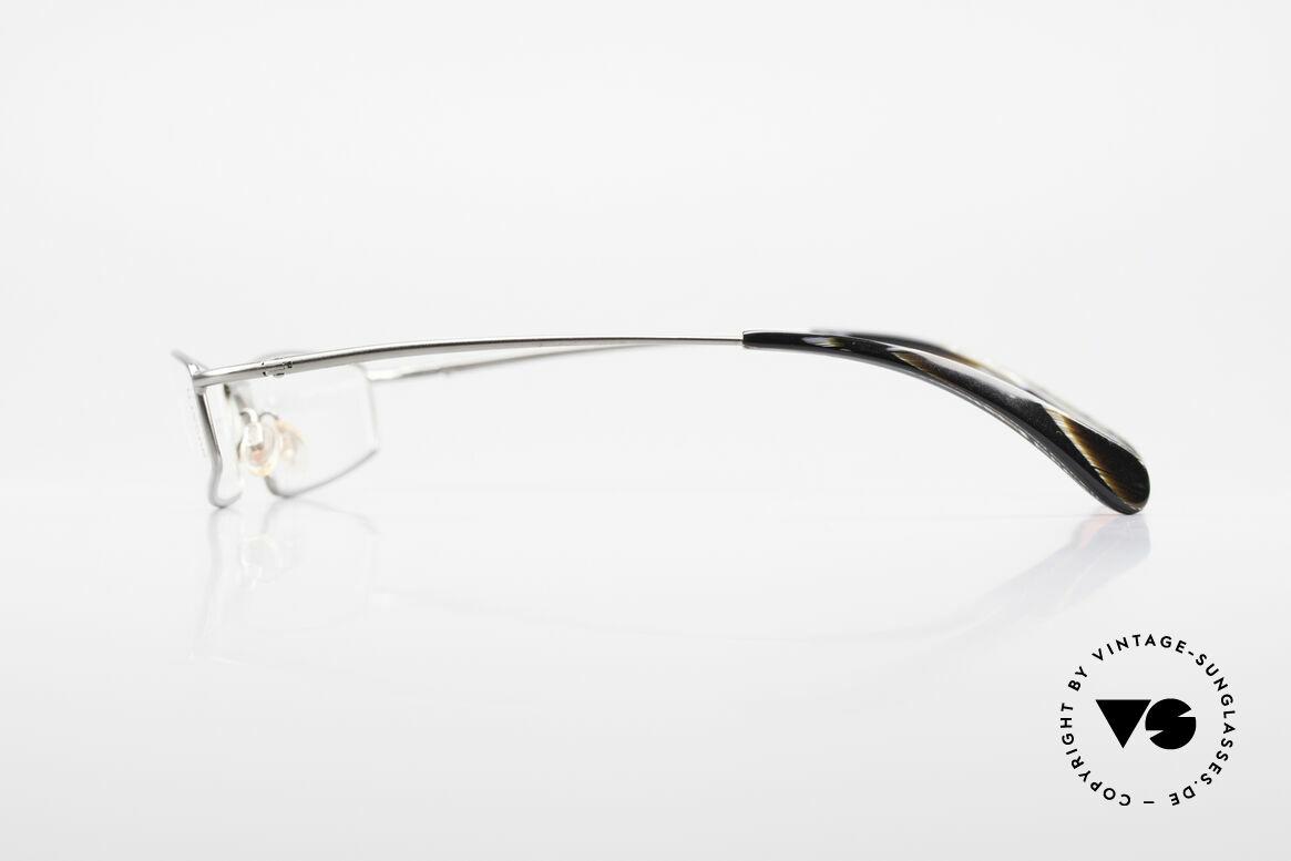 Bugatti 204 Odotype Vintage Luxus Brille Limited, unverwechselbar und in absoluter Top-Qualität, Passend für Herren