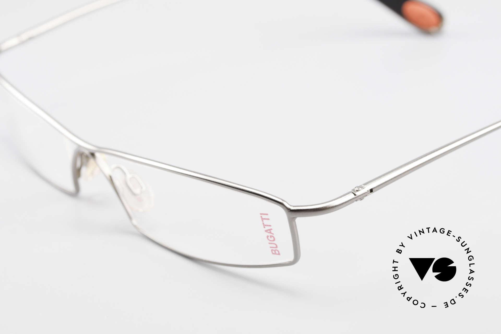 Bugatti 204 Odotype Vintage Luxus Brille Limited, ein circa 15 Jahre altes Einzelstück; ungetragen, Passend für Herren