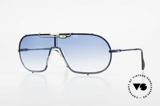Cazal 903 XXL 80er Vintage Sonnenbrille Details