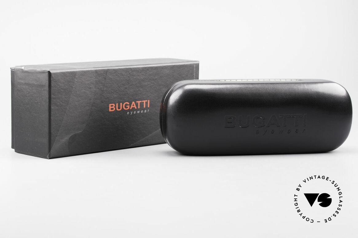 Bugatti 523 Carbon Titanium Gold Brille