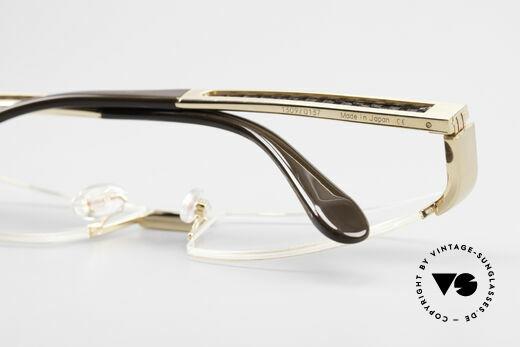 Bugatti 524 Carbon Titanium Gold Brille