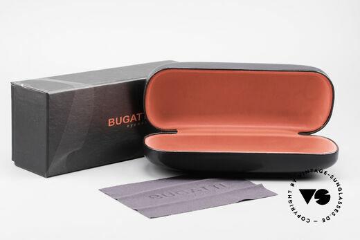 Bugatti 524 Carbon Titanium Gold Brille, Größe: large, Passend für Herren
