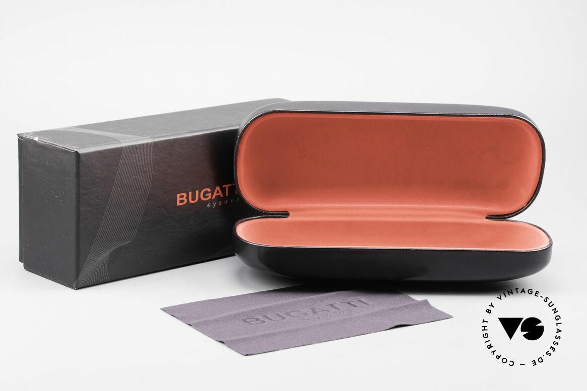 Bugatti 525 Titanium Brille Carbon Gold, Größe: large, Passend für Herren