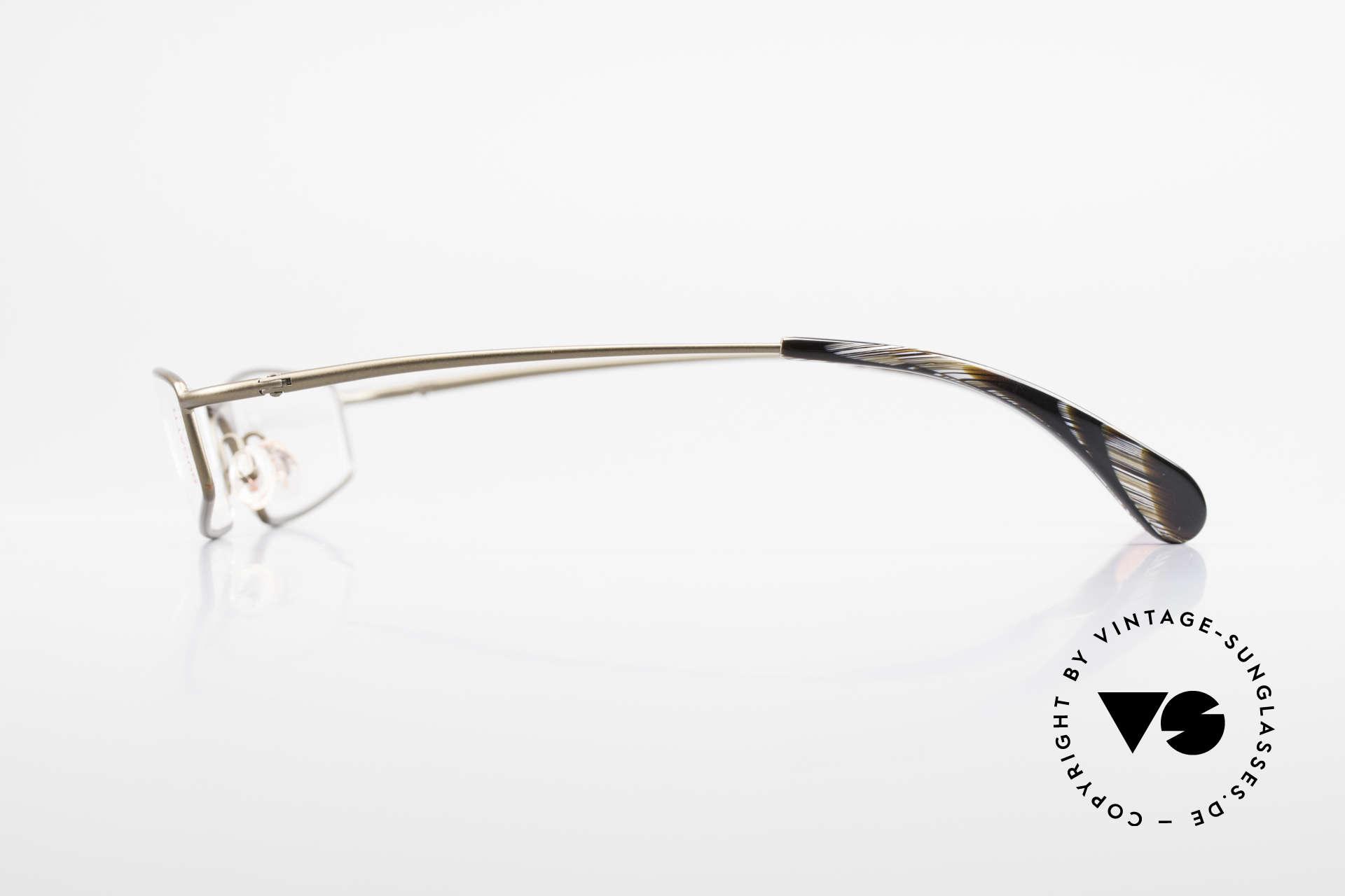 Bugatti 204 Odotype Limited Vintage Luxus Brille, Demos sind beliebig ersetzbar (optisch / Sonne), Passend für Herren