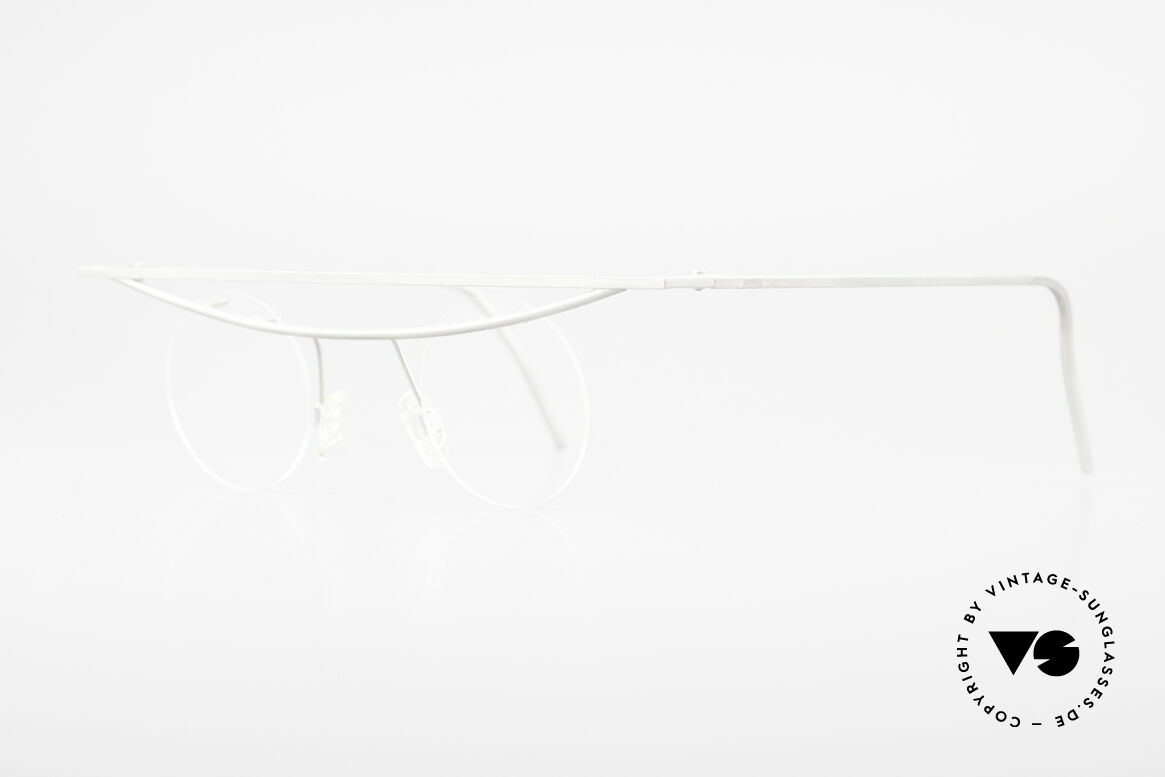 """B. Angeletti Cesna Vintage Architekten Brille XL, in Anlehnung an Marcel Breuers """"Freischwinger"""" Konzept, Passend für Herren und Damen"""