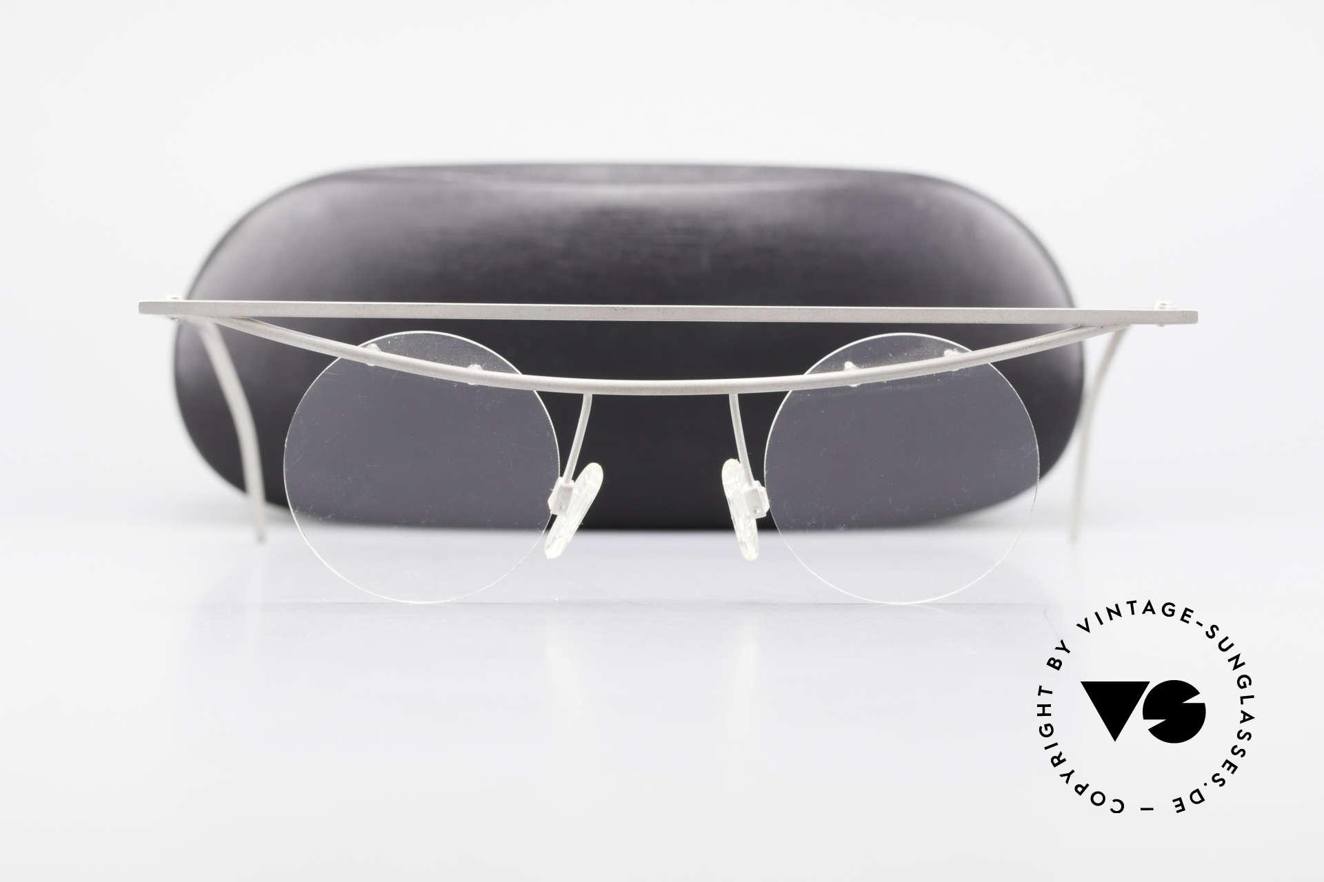B. Angeletti Cesna Vintage Architekten Brille XL, Größe: large, Passend für Herren und Damen