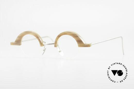 B. Angeletti Baal Redesign Echthorn Vintage Brille 1994 Details
