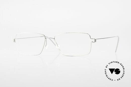 Lindberg Nikolaj Air Titan Rim Designer Titaniumbrille Herren Details
